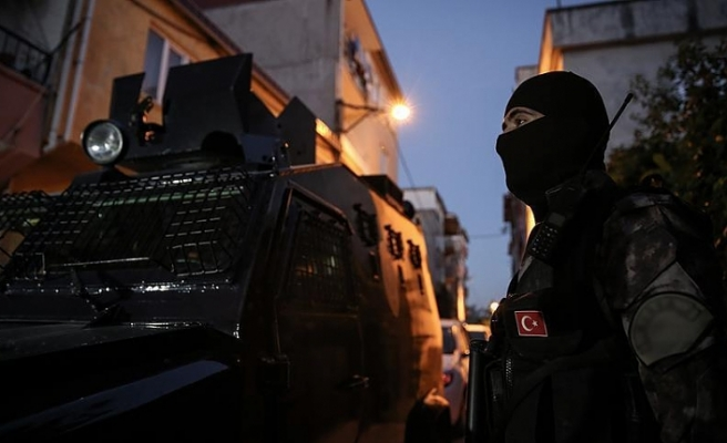 Turkey nabs over 200 Daesh-linked suspects in December
