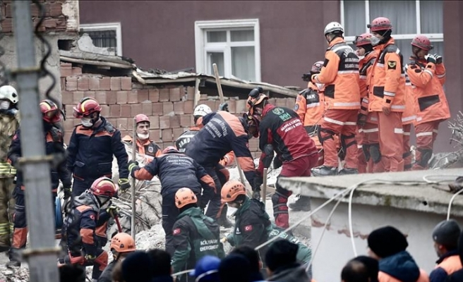Another rescued from Istanbul building collapse