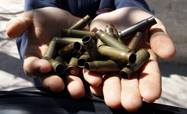 Mortar shells and bullet casings seized in Turkey