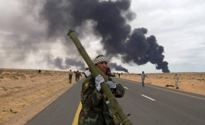 Death toll from Benghazi stray shell rises to 9