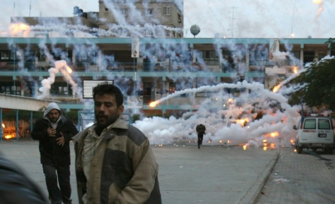 Israel using 'poisonous gas' in Gaza incursions