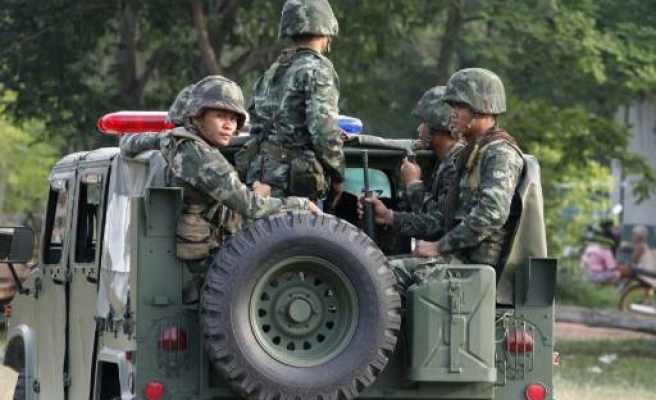 Cambodian, Thai soldier injured in shooting on border