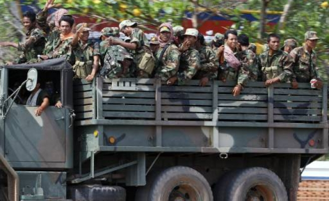 Cambodia convicts 13 of plotting against government