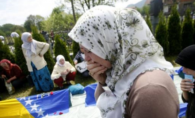 Digging starts at suspected mass grave in Bosnia
