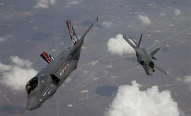 F-35A fighter jet flights suspended after fire at US air base