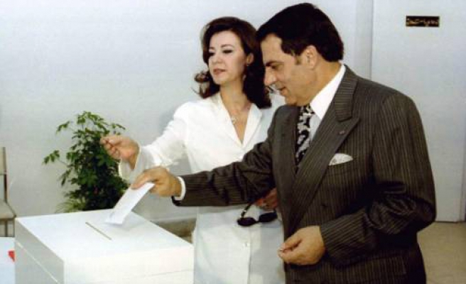 'Coup' ousted Tunisia's Ben Ali, says ex-leader's wife