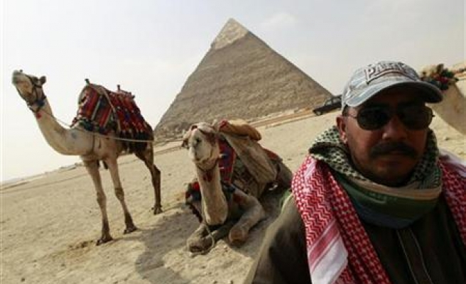 Egypt begins trial over protest camel charge