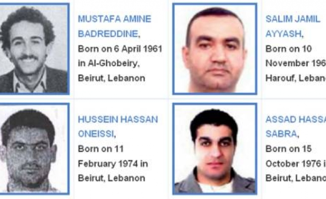 Lebanon tribunal releases indicted names