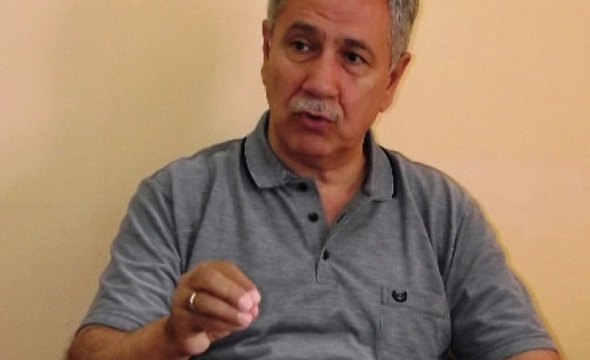 Turkey's Arinc issues welcome message for Kurdish intellectual