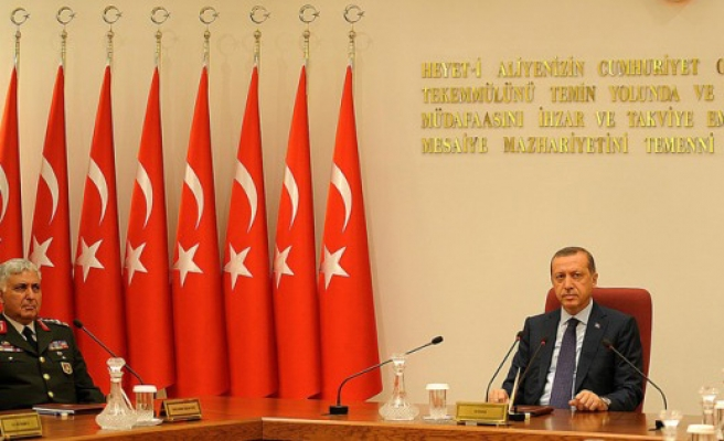 Turkish PM eyes chance to pick military high command - UPDATED