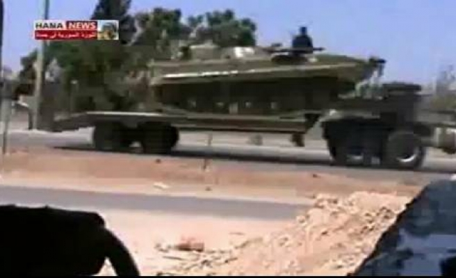 Syrian army deploys across Hama after attack