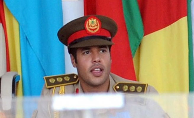 Gaddafi son Khamis leads forces to central Tripoli: TV