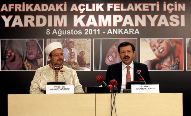 Turkish Religious Affairs collects 31 mln TL to help Africa