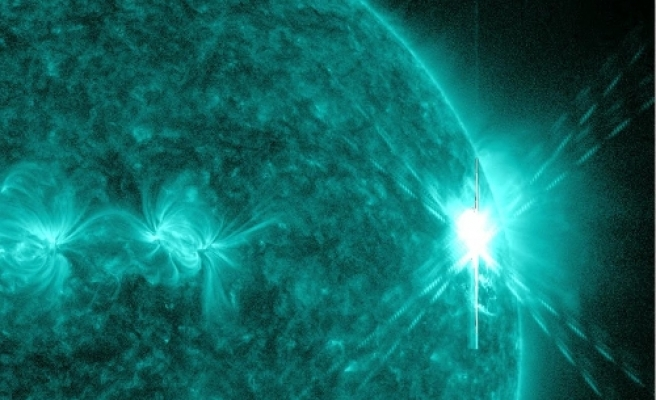 Most powerful solar explosion since 2006 / VIDEO