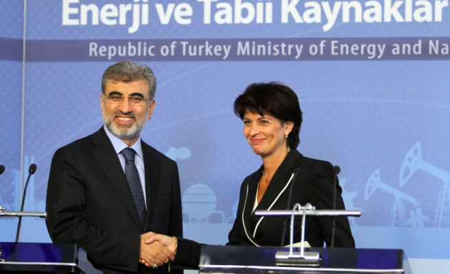 Turkish, Swiss ministers discuss energy cooperation