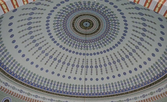 Mosque in Turkey has largest dome in world