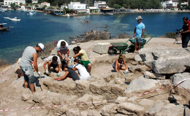 3,500-year-old ancient tombs discovered in Bodrum