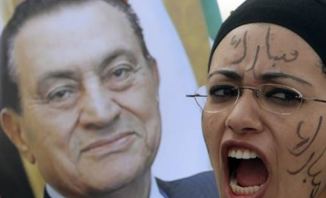 Mubarak wheeled in to court for second trial hearing