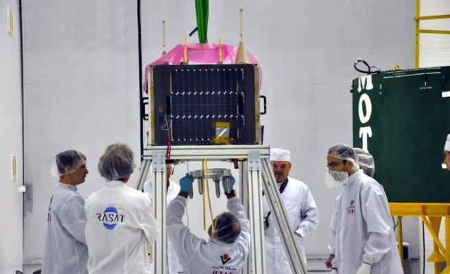 Turkey's first national satellite launched