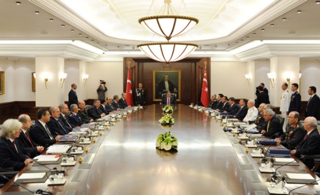 New seating order in place at Turkey's top security council