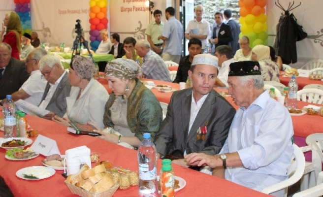 Ramadan tent in Moscow offers festive activities / PHOTO