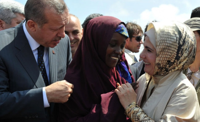 Turkey's PM says not be silent over famine-fit Somalia