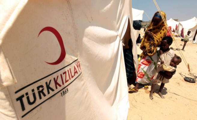 Turkish Red Crescent distributes aid to 700 Somalis every day