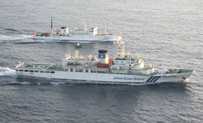 Japan protests over China ships in disputed waters