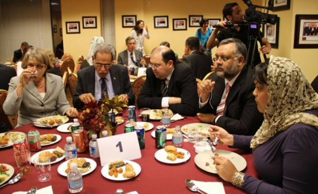 Turkish officials host iftar dinners in US cities