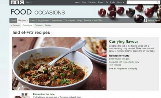 BBC apologizes to Muslims for meal scandal