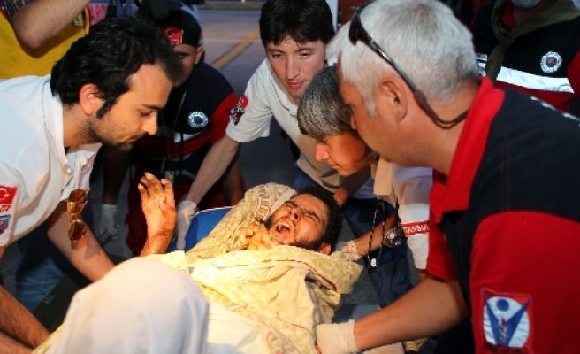 45 wounded Libyans in Turkey for medical treatment