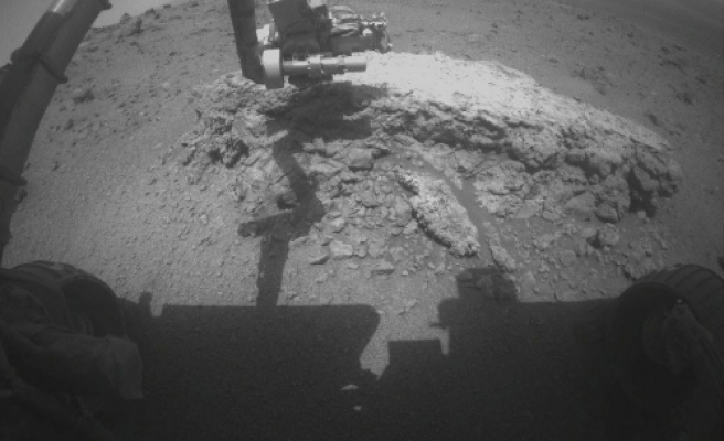 Rover probes role water may have played on Mars