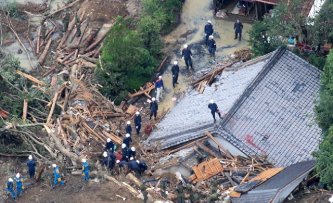 Japan storm death toll rises, more missing
