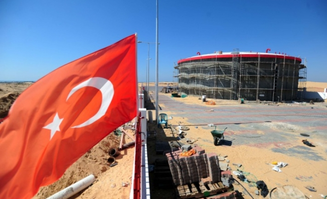 Turkish Red Crescent tries to solve Gaza water problem