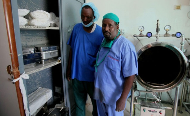 Somali hospitals have cooks but no food to cook