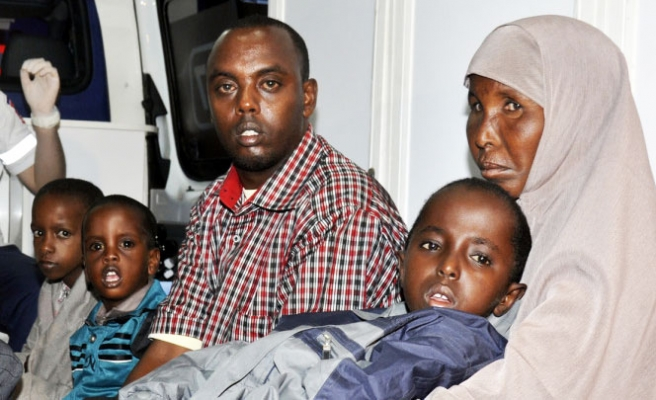 14 Somali children brought to Turkey for treatment