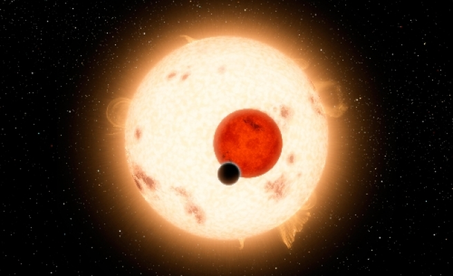 Space probe detects a planet with double sunset / VIDEO