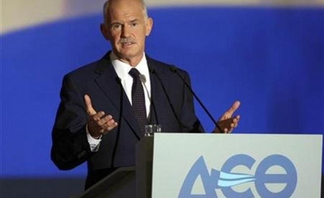 Former Greek PM Papandreou sets up new party ahead of elections