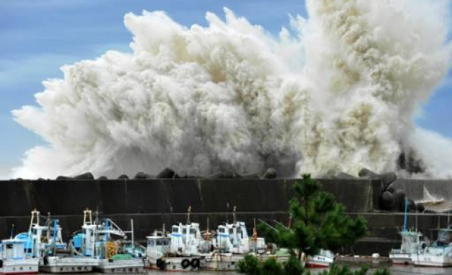 Deadly typhoon doesn't affect Fukushima in Japan
