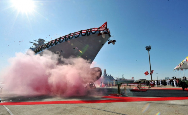 Turkey introduces first self-produced warship amidst Med tension
