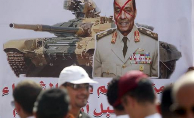 Egypt refers 34 people to military court