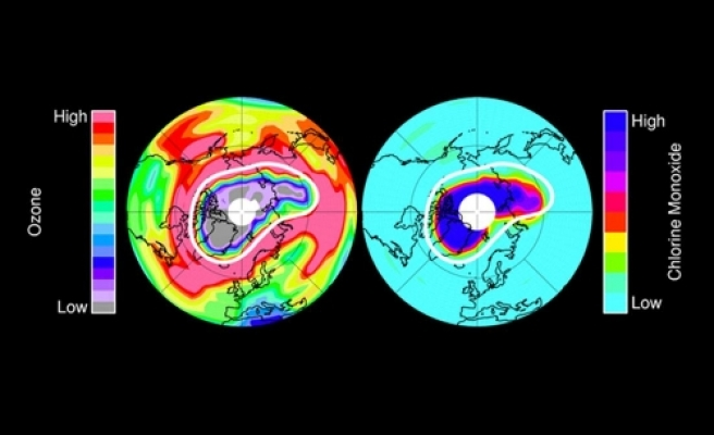 Fragile ozone layer shows first sign of recovery