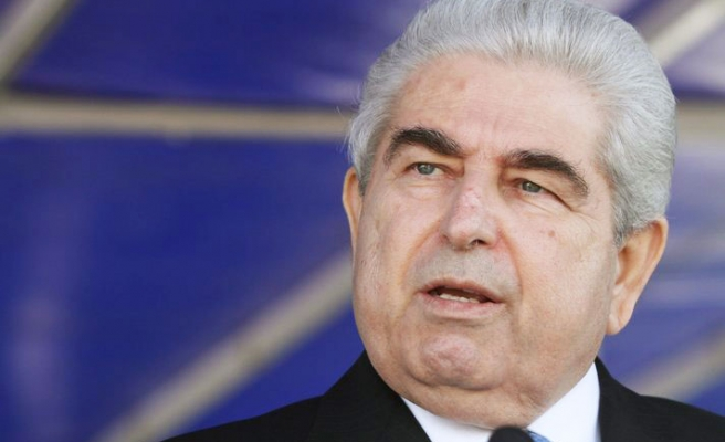 Cypriot president says bows out with head held high