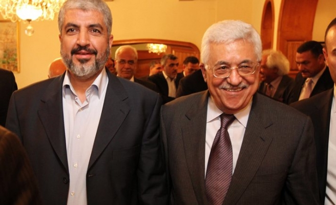Abbas says unity with Hamas only after Palestinian votes