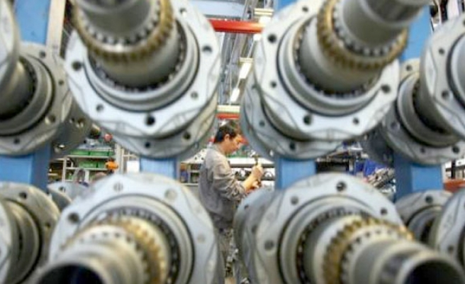 Turkish industrial production index down in August
