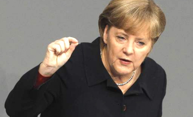 Germany's Merkel under fire over botched drone deal