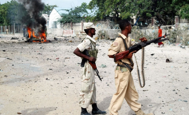 Protest dispersed in central Somalia; 2 killed