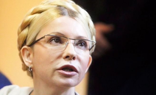 Ukrainian opposition leader Tymoshenko freed