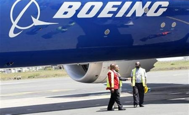 Kenya welcomes first Boeing Dreamliner