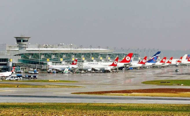 Turkey's export by airways increased 154 percent